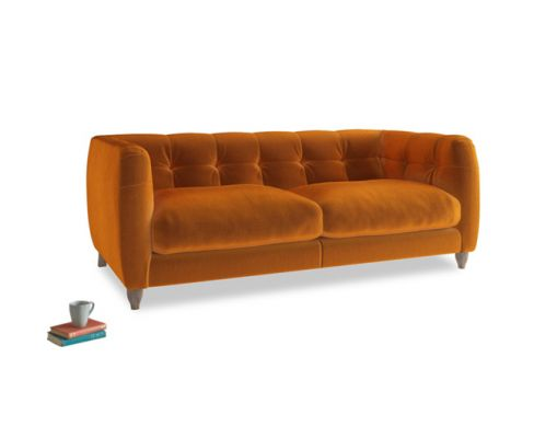 Happy Sofa in Burnt Orange