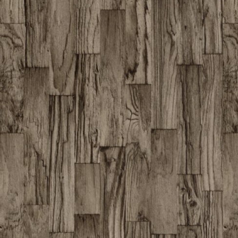 Albany Planks Chocolate Brown Wallpaper