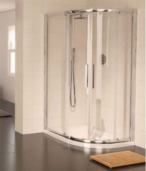 Aqualux Aqua 8 Glide Off-Set Quadrant Shower Enclosure