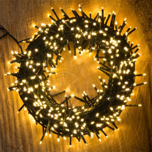 1000 Warm White LED Treebrights String Lights