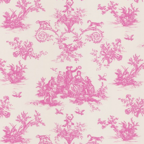 C Brewer and Sons Toile Wallpaper