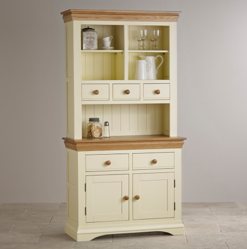 Country Cottage Natural Oak Painted Dresser
