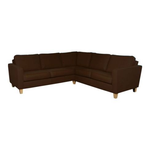 Leather Dante Corner Sofa