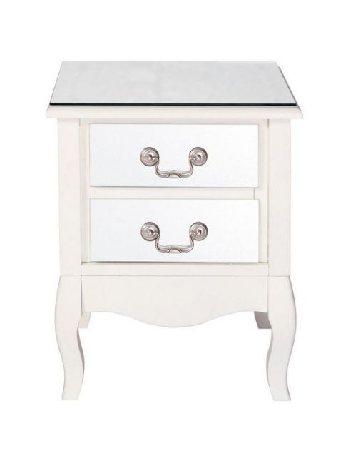 Elysee Two-Drawer Bedside Cabinet