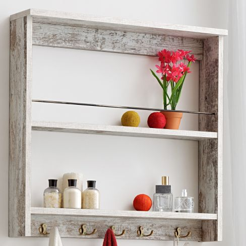 Home & Haus Fennel Two-Shelf Display Unit