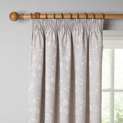 Freya Lined Pencil Pleat Curtains