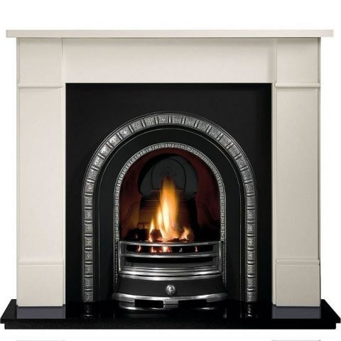 Gallery Brompton Limestone Fire Surround
