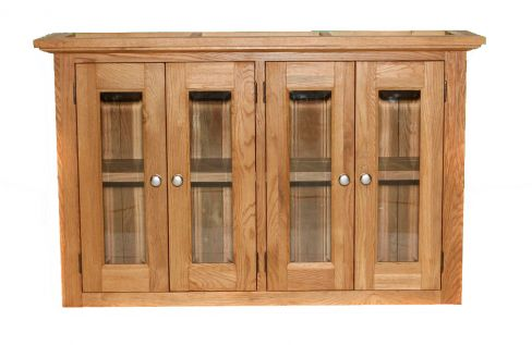 Large Glazed Kitchen Wall Unit