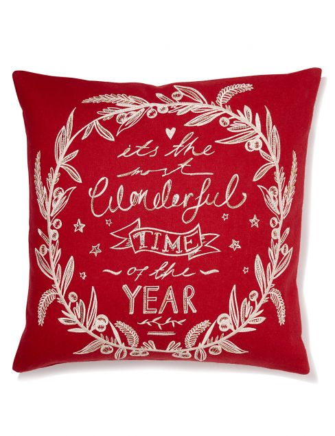 Most Wonderful Time of The Year Cushion