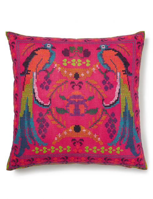 Peruvian Birds Cushion