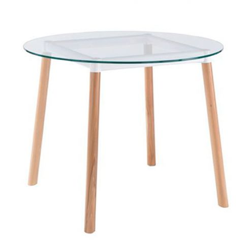 Habitat Bryce Circular Glass Dining Table