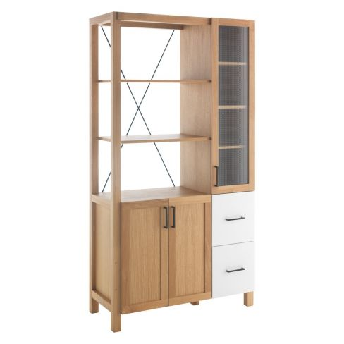 Barnstaple Oak Kitchen Storage Cabinet
