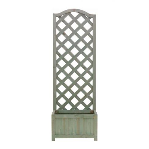 Country Lattice Wooden Planter