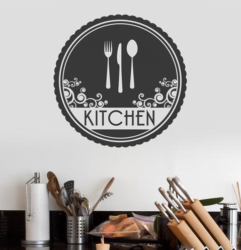 Cutitout Kitchen Lettering Wall Decal