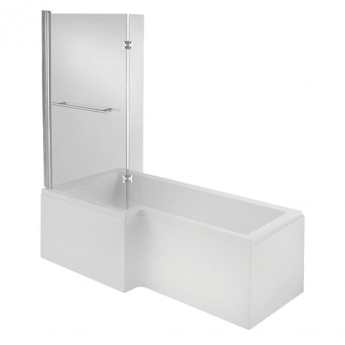 L-shaped Shower Bath Tower