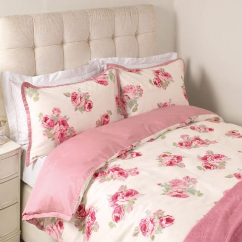 Couture Rose Cotton Duvet Cover