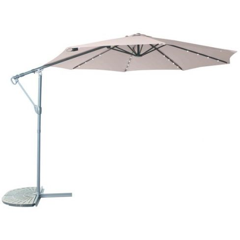 LG Outdoor Living Cantilever Parasol with LED Lights