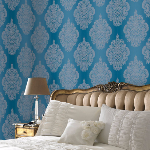 Laurence Llewelyn-Bowen Cote Coutre Damask Wallpaper