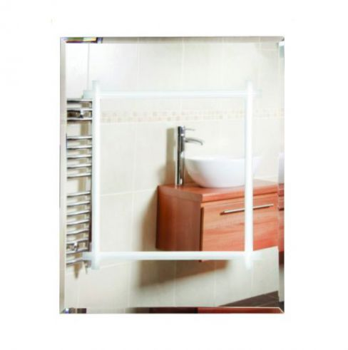Illuminated Large Bathroom Mirror