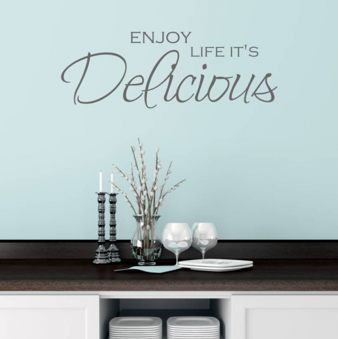 Mirrorin Quote Wall Sticker