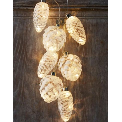 Warm White LED Pine Lights