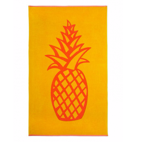 Linea Pineapple Beach Towel