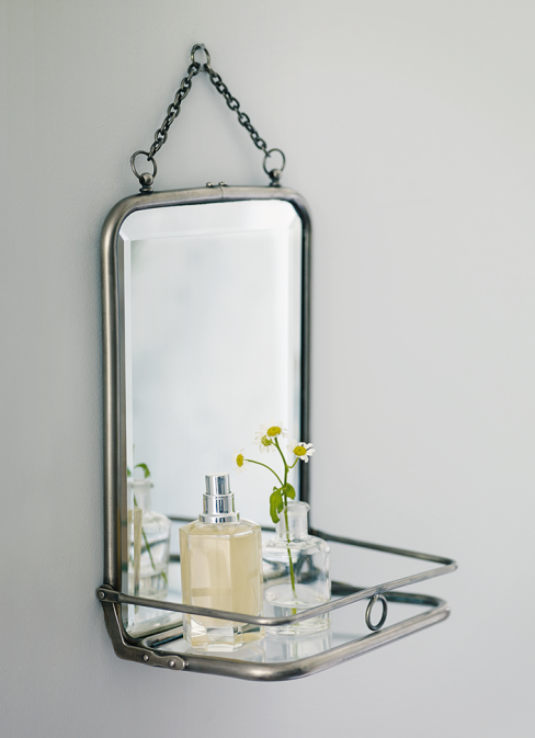 French Folding Bathroom Mirror