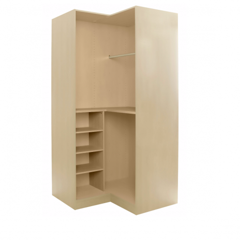 Cooke & Lewis Cream Corner Wardrobe Unit