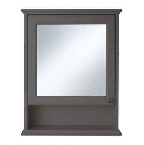 Savoy Charcoal Grey Cabinet