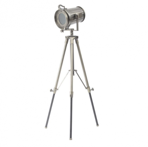 Cranfield Metal Tripod Spotlight Floor Lamp
