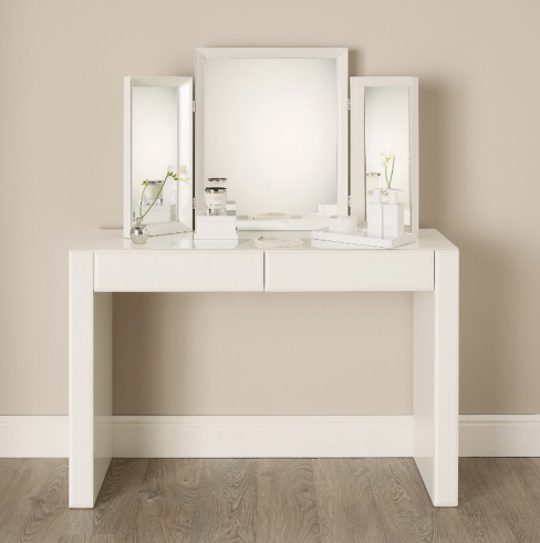 Carlton Glass Dressing Table