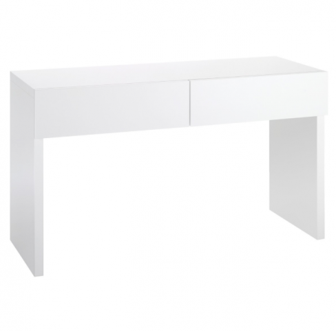 Perouse White 2 Drawer Dressing Table