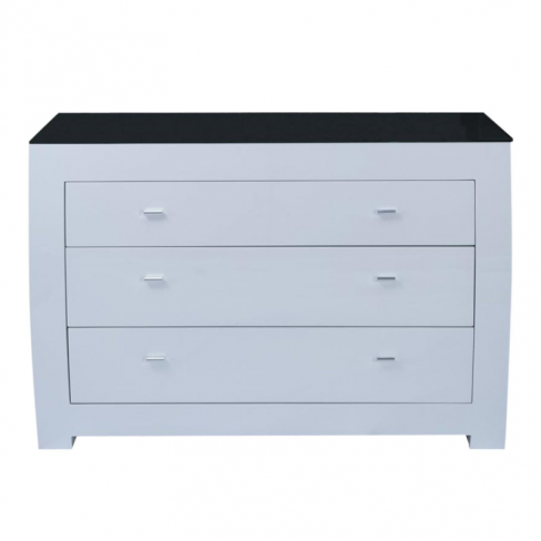 Casa Emily White Chest of Drawers