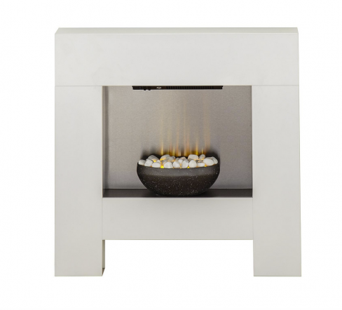 Cubist Electric Fireplace Suite
