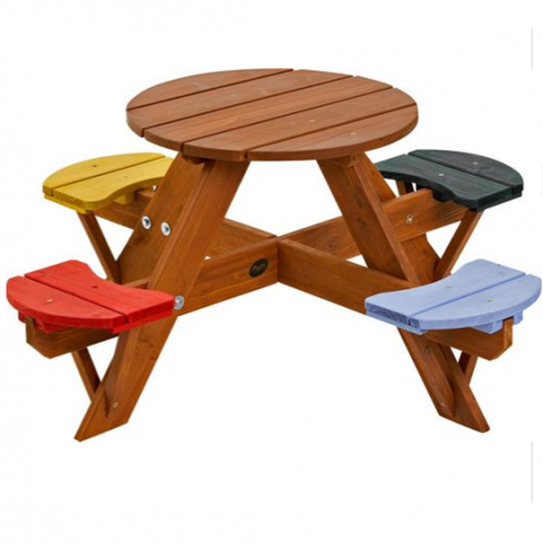 Plum Children's Garden Picnic Table
