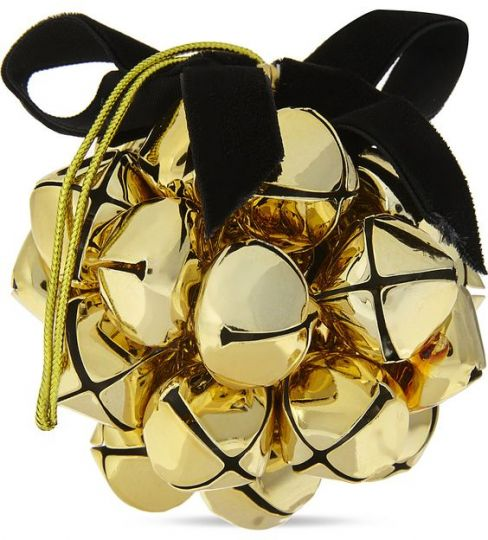 Gold-toned Bell Bauble