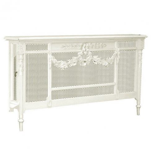 Chateau Shabby Chic White Radiator Cover