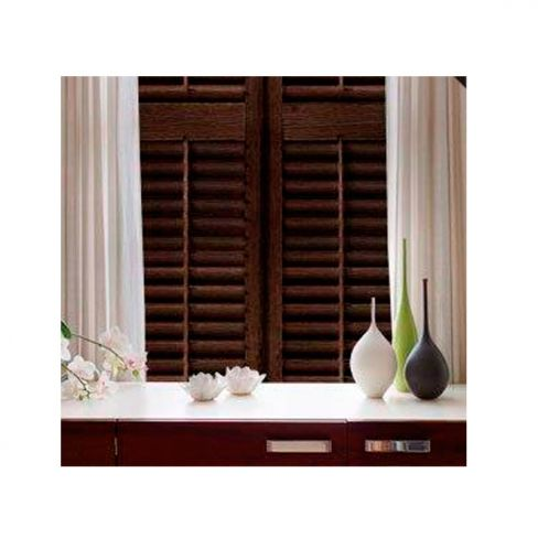 Ultimate Black Walnut Shutters