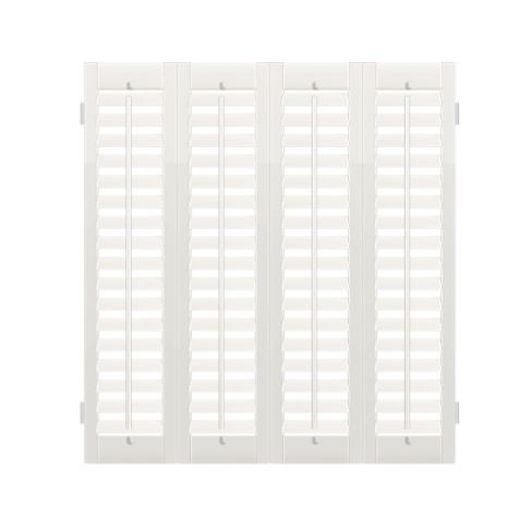 Affordable Basswood Cafe-style Shutters