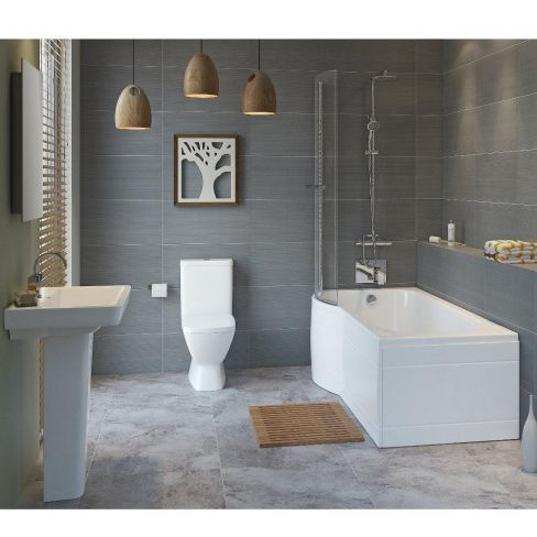 shower baths 10 brilliant buys housetohome co uk sabrosa shower bath suite contemporary bathroom