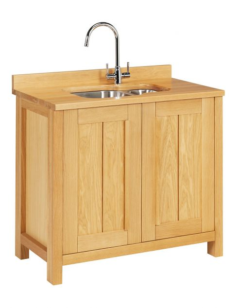 Sonoma Light Kitchen Sink Unit
