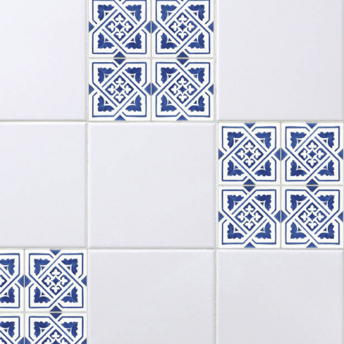 Spin Collective Blue Spanish Tile Stickers Set