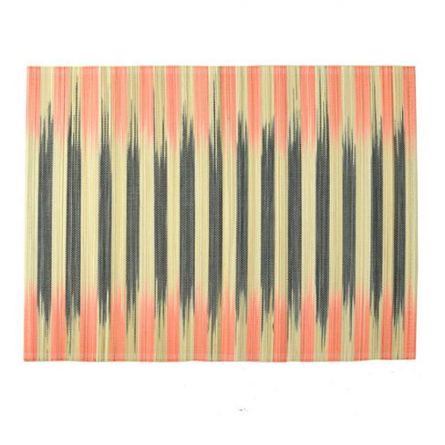 Nom Living Striped Bamboo Placemats