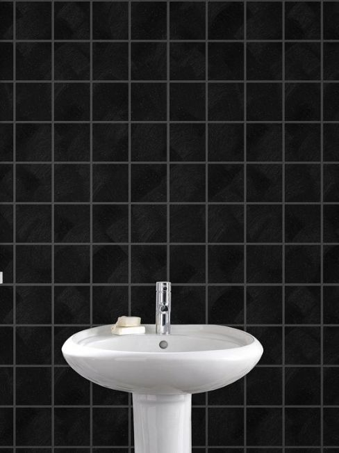 Tile print wallpapers our pick of the best housetohome for Kitchen and bathroom wallpaper
