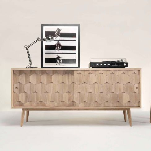 Oak Scarpa Sideboard by Wewood
