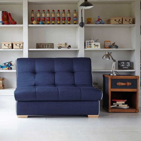 Shoreditch Sofa Bed in Nirvana Blue