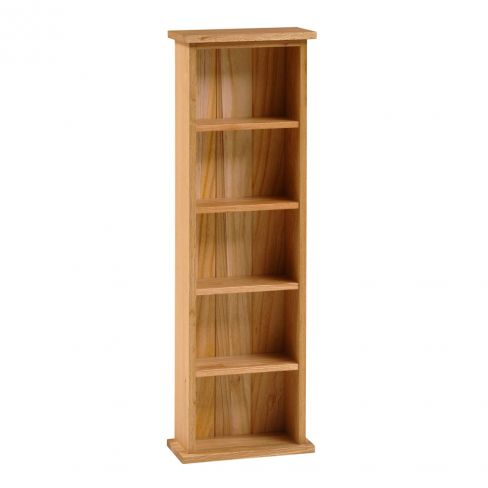 Alderley Oak Double DVD Storage Tower