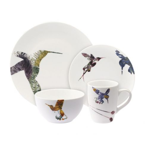 Loveramics Flutter 16 Piece Dinner Set