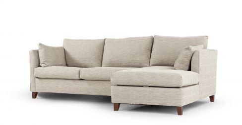 Bari Sofa Bed in Neutral Linen