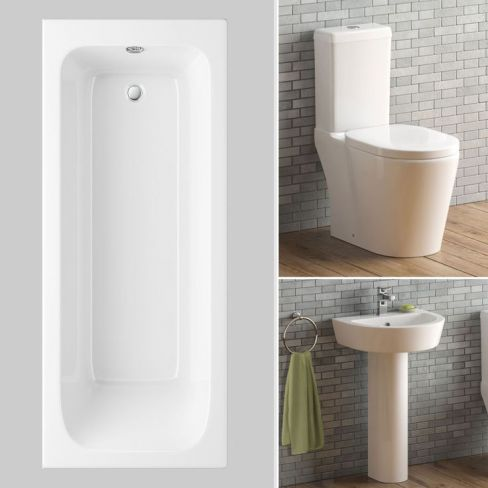 Albi Straight Bath Suite